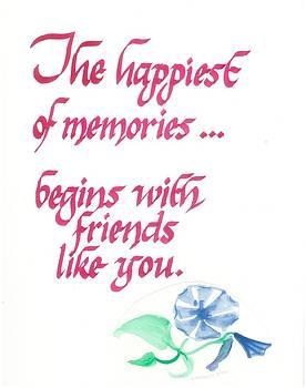 Happiest Memories by Valerie VanOrden