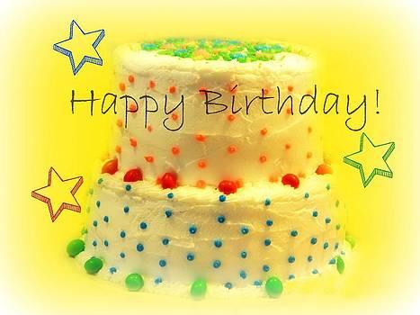 Happy Birthday Card by Patricia Erwin