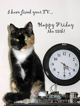 Happy Friday The 13th by Ausra Huntington nee Paulauskaite