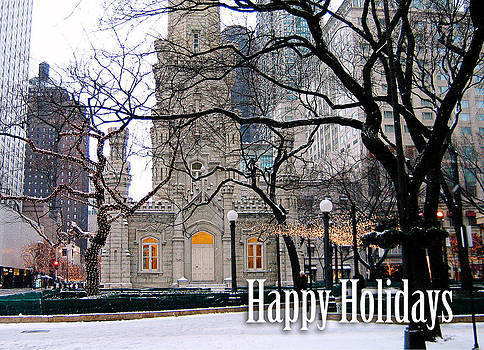 Happy Holidays from Chicago by Laura Kinker