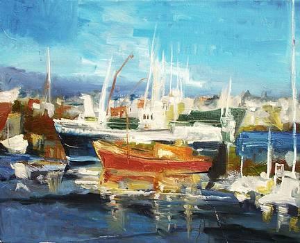 Harbor by Anna Kowalewicz