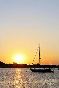 Harbor Sunset by Pamela Gail Torres