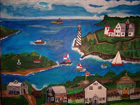 Harbor Town by Ann Whitfield