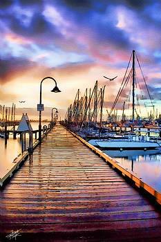 Harbor Town by Tom Schmidt