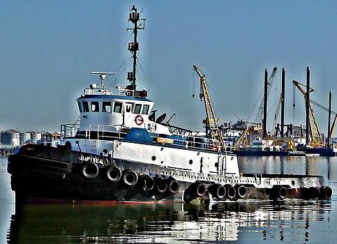 Harbor Tug by John Collins