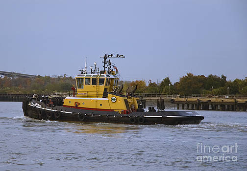 Tim Mulina - Harbor Tug SAVANNAH