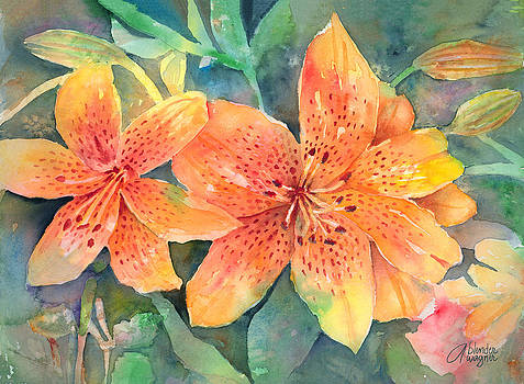 Hardy Lilies by Arline Wagner