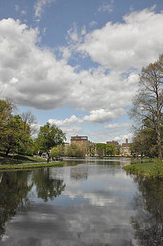 Harlem Meer in Central Park by Sarah McKoy