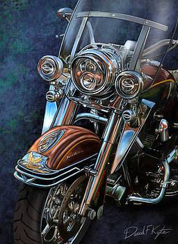 Harley Davidson Ultra Classic by David Kyte