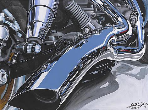 Harley One by John Westerhold