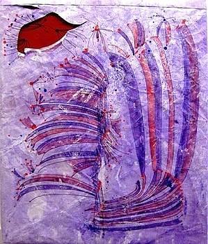 Harp by Vicky Shaffer White