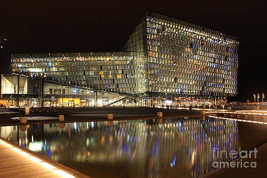 HARPA Concert Hall by Miso Jovicic