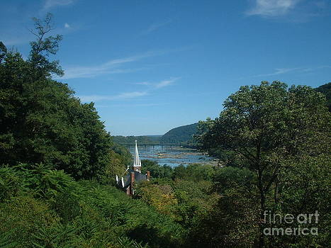 Harper's Ferry Long View by Mark Robbins