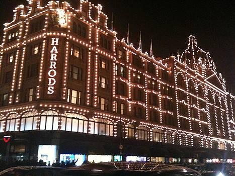 Yvonne Ayoub - Harrods Illuminated