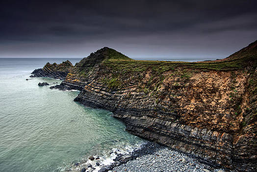 Hartland Strata by Mark Leader