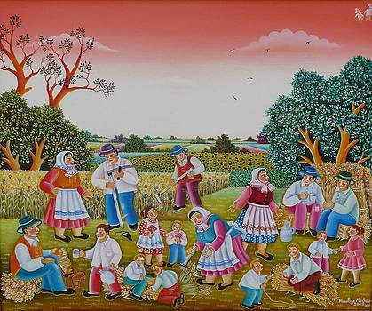Harvesting by Rozalija Markov