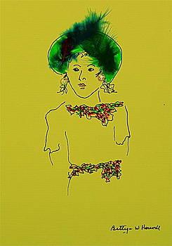 Hat Lady 11 by Bettye  Harwell