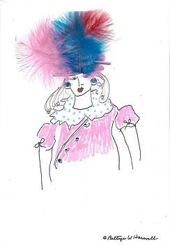 Hat Lady 2 by Bettye  Harwell
