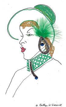 Hat Lady 3 by Bettye  Harwell
