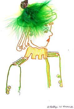 Hat Lady 4 by Bettye  Harwell