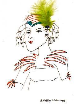 Hat Lady 8 by Bettye  Harwell