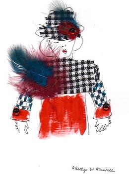 Hat Lady 9 by Bettye  Harwell