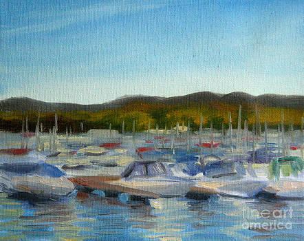 Haverstraw Marina by Jane  Simonson