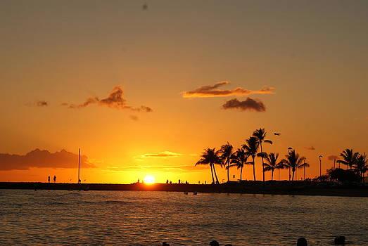 Hawaii Sunset 1 by Jennifer Hirsch