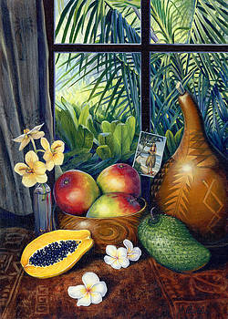 Hawaiian Still life by Anne Wertheim