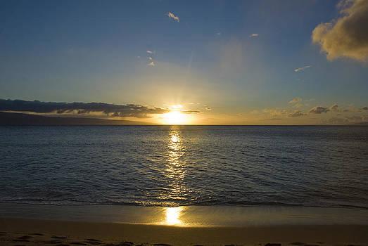 Hawaiian Sunset by Chris Ann Wiggins