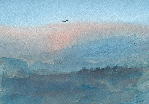 Hawk above the Twilight by Alan Daysh