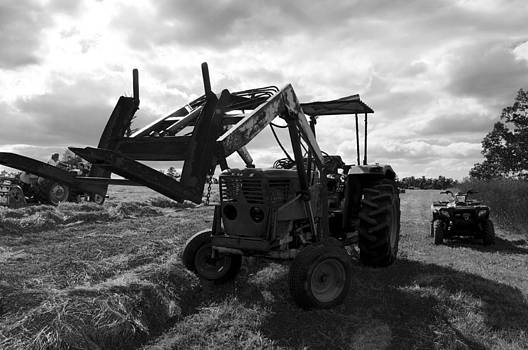Hay Tractor by Misty Achenbach