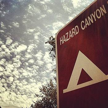 Hazard Canyon Skies - Montana De Oro by Veronica Rains