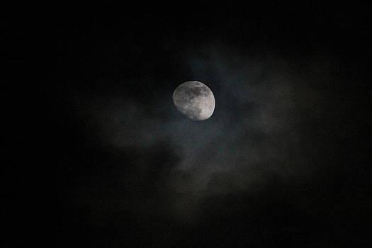 Hazey moon by Ralph Hecht