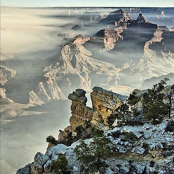 Hdr Grand Canyon #sunrise by Michael Misciagno