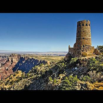 #hdr Of Desert View Tower At The Edge by Michael Misciagno