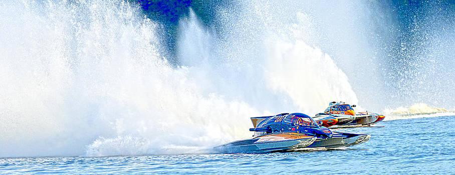 Randall Branham - HDR Pano Thunder on The Lake