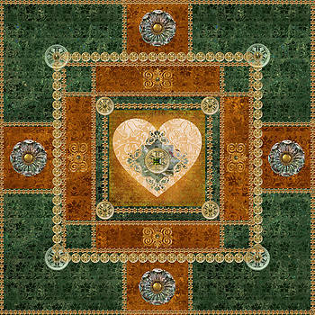 Heart Mandala by Susan Ragsdale
