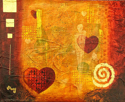 Heart Mystique 3 by Pat Stacy