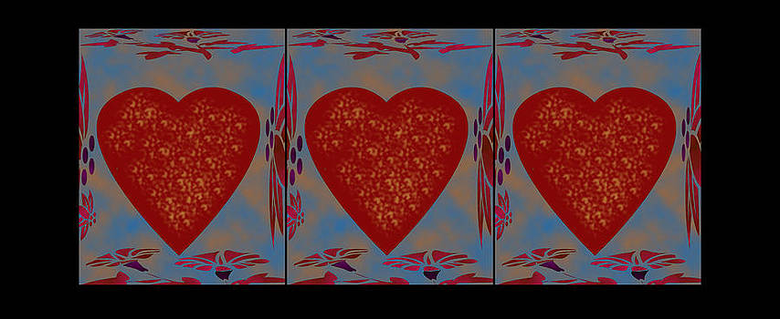 Heart Project One by Dede Shamel Davalos