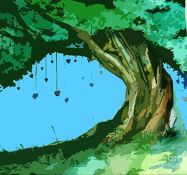 Heart Tree by Ruth Kongaika