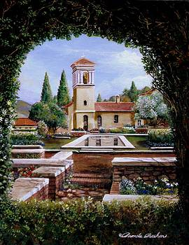 Hedge Church at Alhambra Spain by Pamela Roehm