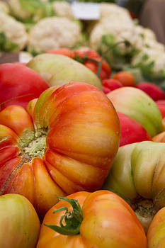 Dina Calvarese - heirloom tomatoes