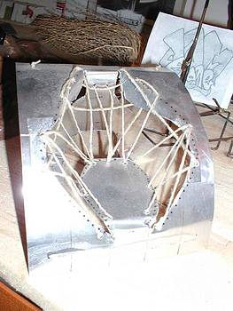 Hemp Weave Chair Model by James Bones Tomaselli