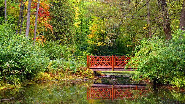 Ms Judi - Henes Park Pond Bridge