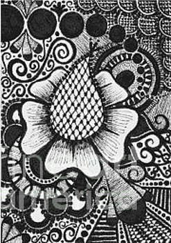 Henna-inspired ATC by Laura Kayon