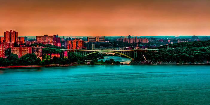Dave Hahn - Henry Hudson Bridge at Nightfall