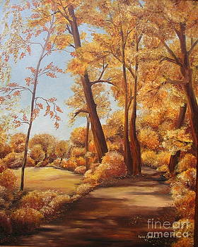 Herbstweg by Haike Espenhain