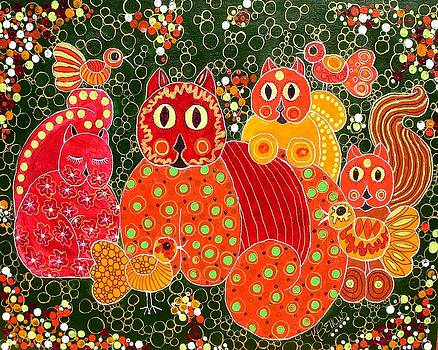 Here Kitty Kitty by Kathleen Bellows