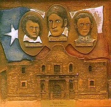 Heroes Of the Alamo by Michael Pasko
